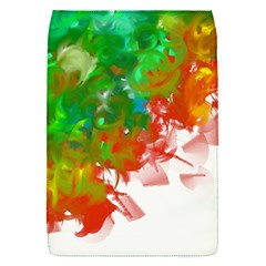 Digitally Painted Messy Paint Background Textur Flap Covers (s)  by Nexatart