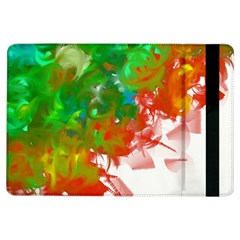 Digitally Painted Messy Paint Background Textur Ipad Air Flip