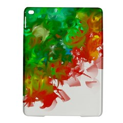Digitally Painted Messy Paint Background Textur Ipad Air 2 Hardshell Cases by Nexatart