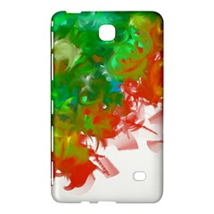 Digitally Painted Messy Paint Background Textur Samsung Galaxy Tab 4 (7 ) Hardshell Case  by Nexatart