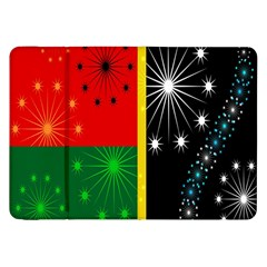 Snowflake Background Digitally Created Pattern Samsung Galaxy Tab 8 9  P7300 Flip Case