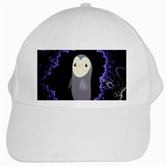 Fractal Image With Penguin Drawing White Cap by Nexatart