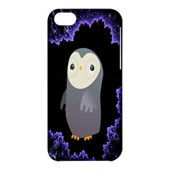 Fractal Image With Penguin Drawing Apple Iphone 5c Hardshell Case