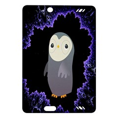 Fractal Image With Penguin Drawing Amazon Kindle Fire Hd (2013) Hardshell Case by Nexatart