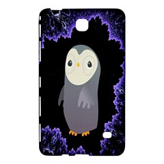 Fractal Image With Penguin Drawing Samsung Galaxy Tab 4 (7 ) Hardshell Case