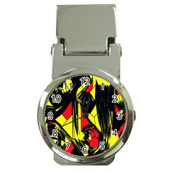 Easy Colors Abstract Pattern Money Clip Watches by Nexatart