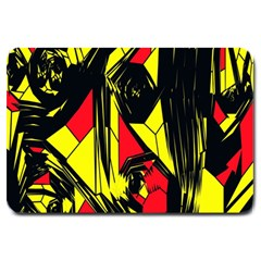 Easy Colors Abstract Pattern Large Doormat