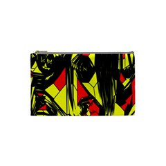 Easy Colors Abstract Pattern Cosmetic Bag (small)  by Nexatart