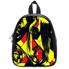 Easy Colors Abstract Pattern School Bags (small)  by Nexatart