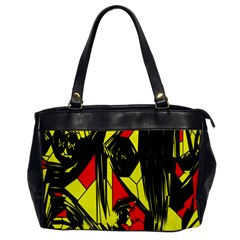 Easy Colors Abstract Pattern Office Handbags by Nexatart