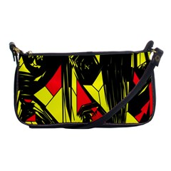 Easy Colors Abstract Pattern Shoulder Clutch Bags by Nexatart