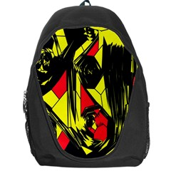 Easy Colors Abstract Pattern Backpack Bag