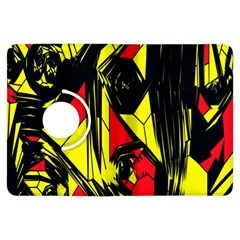 Easy Colors Abstract Pattern Kindle Fire Hdx Flip 360 Case