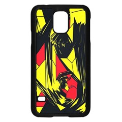 Easy Colors Abstract Pattern Samsung Galaxy S5 Case (black)