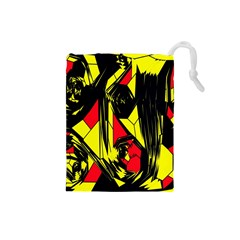 Easy Colors Abstract Pattern Drawstring Pouches (small)