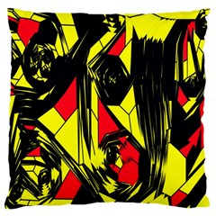 Easy Colors Abstract Pattern Standard Flano Cushion Case (two Sides)