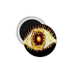 Flame Eye Burning Hot Eye Illustration 1 75  Magnets by Nexatart