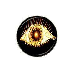 Flame Eye Burning Hot Eye Illustration Hat Clip Ball Marker (10 Pack) by Nexatart