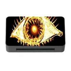 Flame Eye Burning Hot Eye Illustration Memory Card Reader With Cf by Nexatart