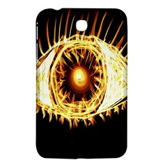 Flame Eye Burning Hot Eye Illustration Samsung Galaxy Tab 3 (7 ) P3200 Hardshell Case  by Nexatart