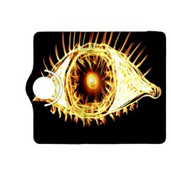 Flame Eye Burning Hot Eye Illustration Kindle Fire Hdx 8 9  Flip 360 Case by Nexatart