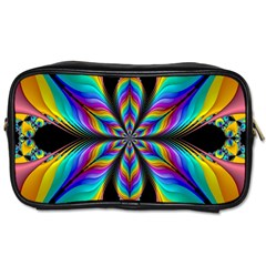 Fractal Butterfly Toiletries Bags