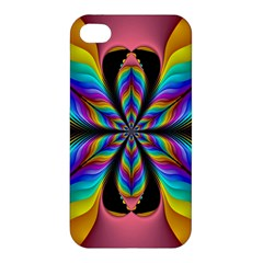 Fractal Butterfly Apple Iphone 4/4s Hardshell Case by Nexatart