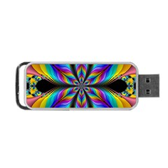 Fractal Butterfly Portable Usb Flash (two Sides) by Nexatart