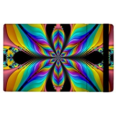 Fractal Butterfly Apple Ipad 3/4 Flip Case