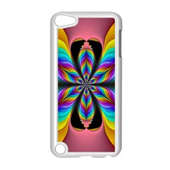 Fractal Butterfly Apple iPod Touch 5 Case (White)