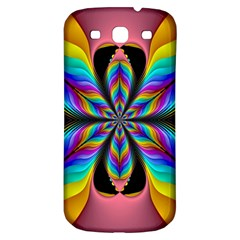 Fractal Butterfly Samsung Galaxy S3 S Iii Classic Hardshell Back Case