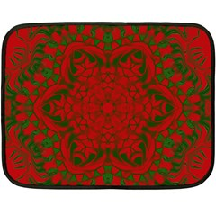 Christmas Kaleidoscope Fleece Blanket (mini)
