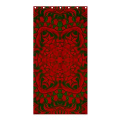Christmas Kaleidoscope Shower Curtain 36  X 72  (stall)
