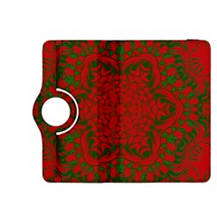 Christmas Kaleidoscope Kindle Fire Hdx 8 9  Flip 360 Case
