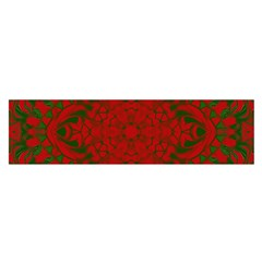 Christmas Kaleidoscope Satin Scarf (oblong)