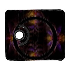 Wallpaper With Fractal Black Ring Galaxy S3 (flip/folio)