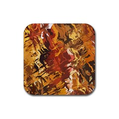 Abstraction Abstract Pattern Rubber Coaster (square)