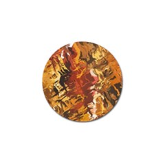 Abstraction Abstract Pattern Golf Ball Marker