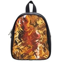 Abstraction Abstract Pattern School Bags (small)  by Nexatart