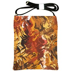 Abstraction Abstract Pattern Shoulder Sling Bags by Nexatart