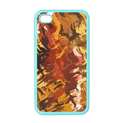 Abstraction Abstract Pattern Apple Iphone 4 Case (color)