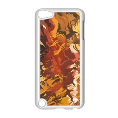 Abstraction Abstract Pattern Apple Ipod Touch 5 Case (white)