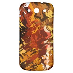 Abstraction Abstract Pattern Samsung Galaxy S3 S Iii Classic Hardshell Back Case by Nexatart