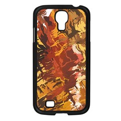 Abstraction Abstract Pattern Samsung Galaxy S4 I9500/ I9505 Case (black)