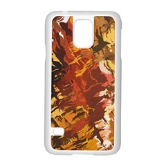 Abstraction Abstract Pattern Samsung Galaxy S5 Case (white)