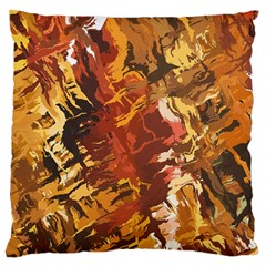 Abstraction Abstract Pattern Large Flano Cushion Case (two Sides)