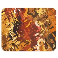 Abstraction Abstract Pattern Double Sided Flano Blanket (medium)