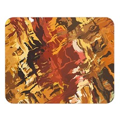 Abstraction Abstract Pattern Double Sided Flano Blanket (large)