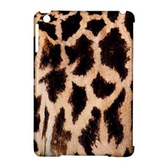 Giraffe Texture Yellow And Brown Spots On Giraffe Skin Apple Ipad Mini Hardshell Case (compatible With Smart Cover)