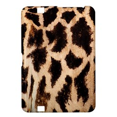 Giraffe Texture Yellow And Brown Spots On Giraffe Skin Kindle Fire Hd 8 9  by Nexatart